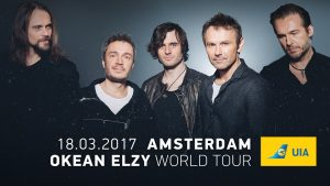 Okean Elzy ticket sale Amsterdam 2017