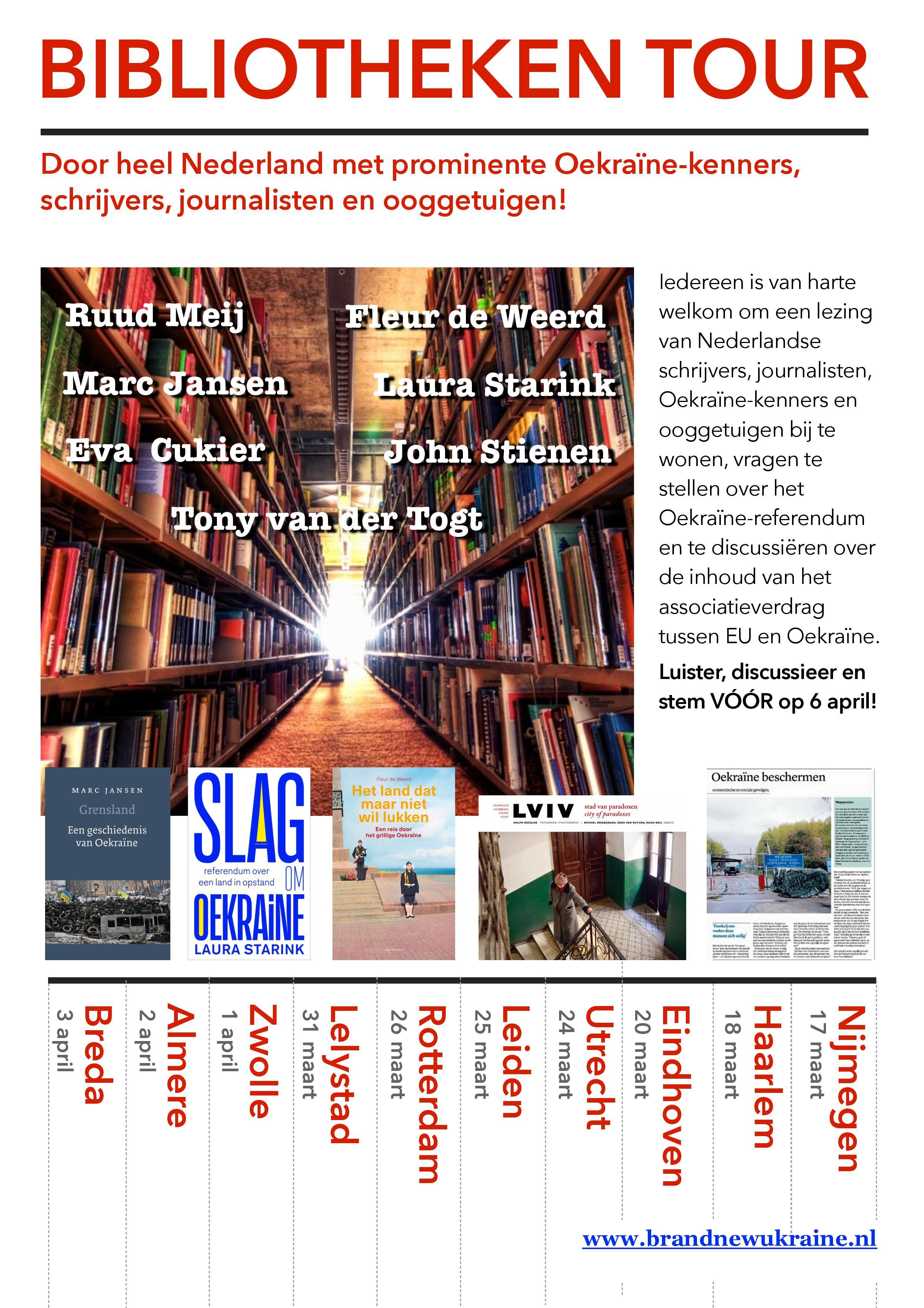 bibliotheken tour stem voor