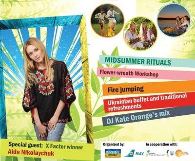 Midsummer's Eve Celebration with X Factor Winner